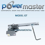PowerMaster GT-152, 1 1/2 HP, 208V /230V , 1 Phase, Heavy Duty Drawbar Operator