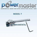 PowerMaster T-52, 1/2 HP, 208V /230V , 1 Phase,  Apartment House Drawbar Operator