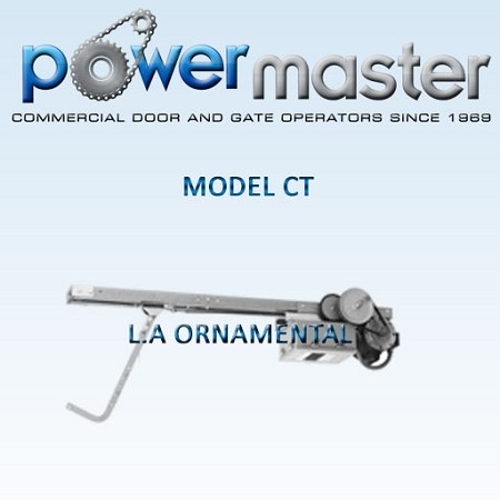 Powermaster Model CT Trolly Operator With Car Wash Modification 1/2HP 208-230 3 Phase