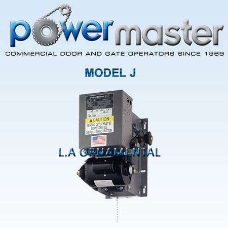 PowerMaster J-51, 1/2 HP, 115V, 1 Phase, V-Belt Industrial Jackshaft Operator