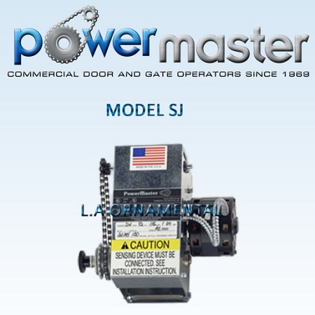 "PowerMaster model ""SJ"" Jackshaft NO LONGER AVAILABLE"