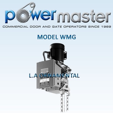 Model  WMG  Watertight Gear Reduced Hoist Operator NLA
