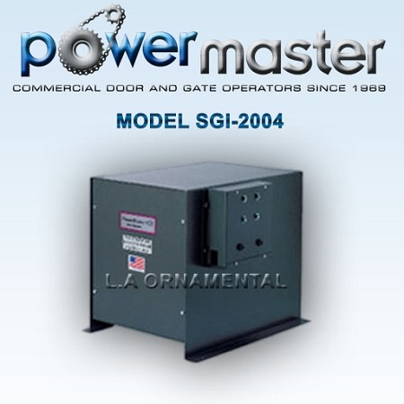 Powermaster SGI-2004 1/2HP 230-208 1 Phase Volt Commercial Heavy Duty Sliding