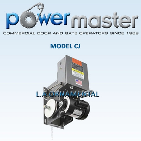 PowerMaster Overhead Door Openers - Power Master Commercial Operators