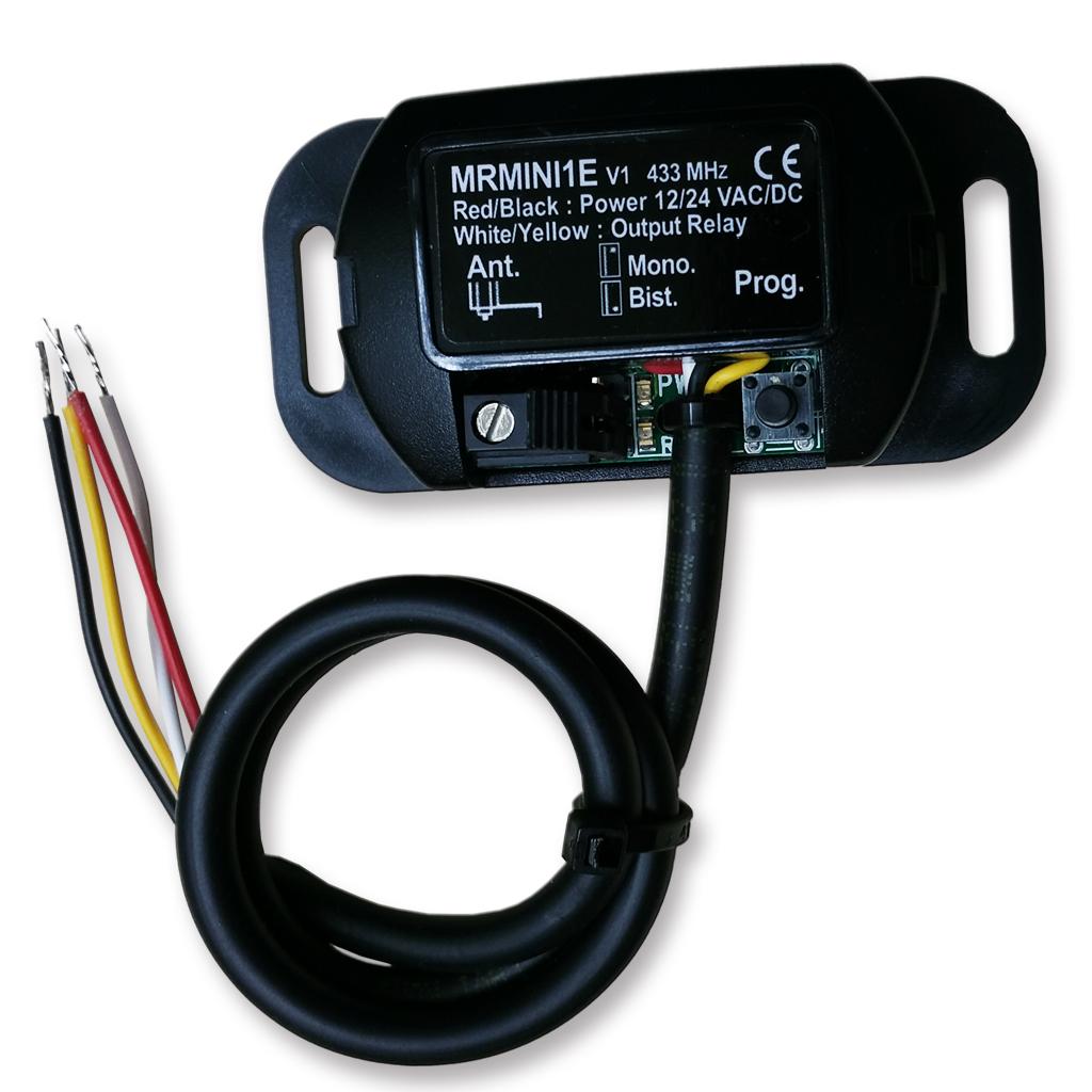 Garage Door Opener Remote Control Mini Receiver Kit 433 Mhz