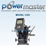 PowerMaster CGH-103, 1 HP, 208V /230V , 3 Phase, Industrial Duty Hoist Center Mounted Gearhead
