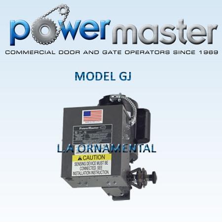 [NRIO_4796]   PowerMaster GJ-51 1/2 HP 115V 1 Phase Industrial Duty Hoist JackShaft | Operator Wiring Diagram For Master |  | PowerMaster Gate Openers