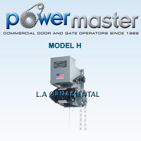 H Powermaster Door Operator Wiring Diagram on