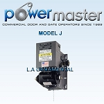 PowerMaster J-104, 1 HP, 460V , 3 Phase, V-Belt Industrial Jackshaft Operator