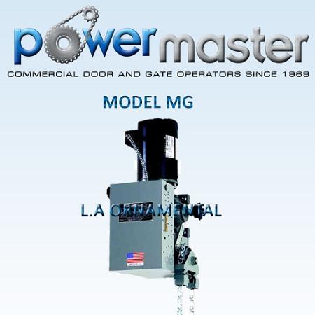 PowerMaster MG-74 3/4 HP 460V 3 Phase, Industrial Duty Gear Reduced