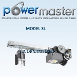 PowerMaster SL-72, 3/4 HP, 208V /230V , 1 Phase, Heavy Duty V-Belt Drive Slide Door Operator