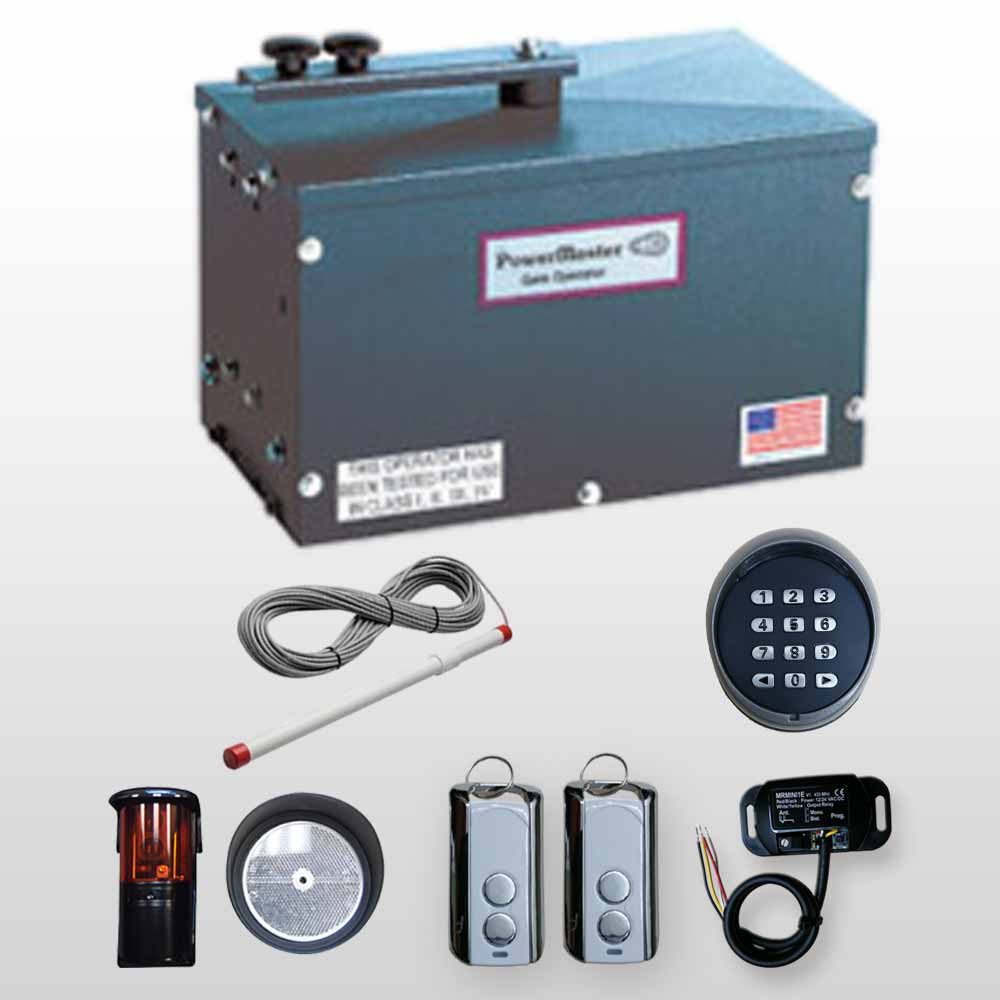 Automatic Swing Gate Openers On Electric Gates Wiring Diagram Operators Powermaster Rsw 2000 Residential Kit 4