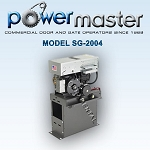 Powermaster SG-2004 1/2HP 230-208 1 Phase Volt Commercial Heavy Duty Sliding