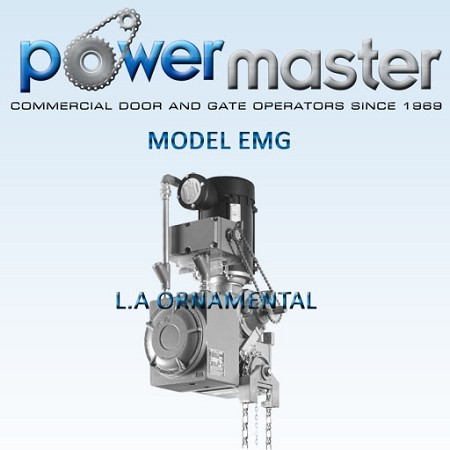 PowerMaster EMG-154 1.5hp 460 Volt Three Phase, Industrial Duty Gear Reduced Hoist Operator ( EXPLOSIVE PROOF NEMA 7-9 ELECTRICAL ENCLOSURE )