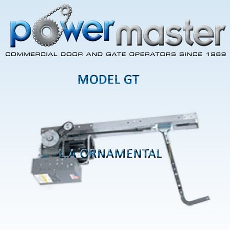 PowerMaster GT-54, 1/2 HP, 460V , 3 Phase, Heavy Duty Drawbar Operator