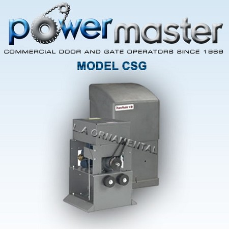 Powermaster CSG Gate Opener Commercial Industrial Sliding Gate Operator